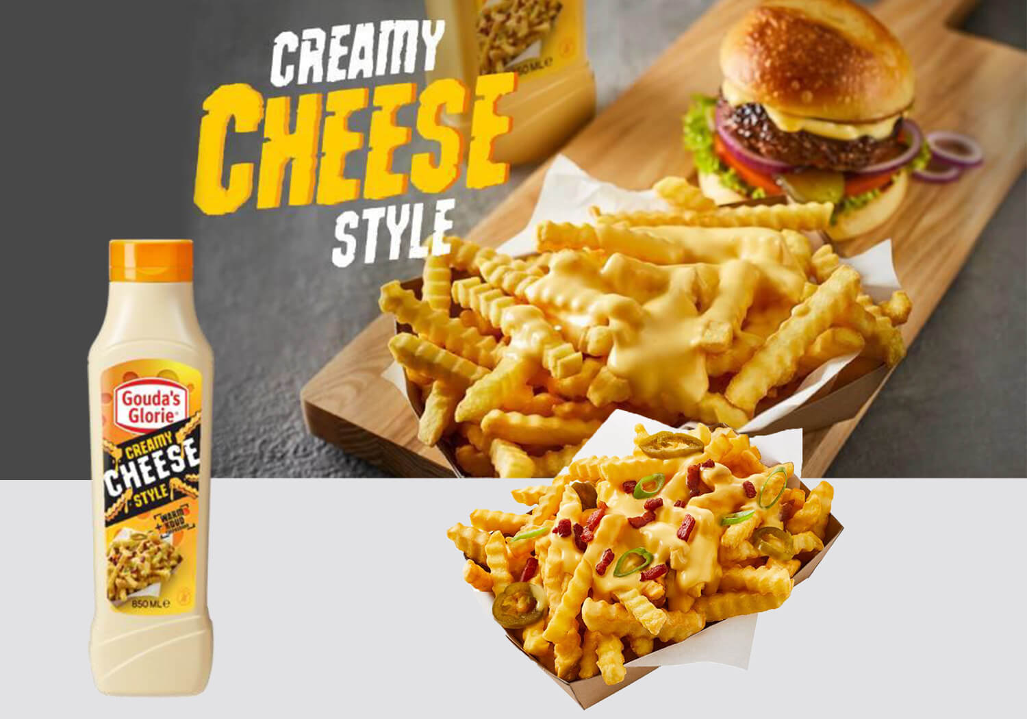 Creamy Cheese Style
